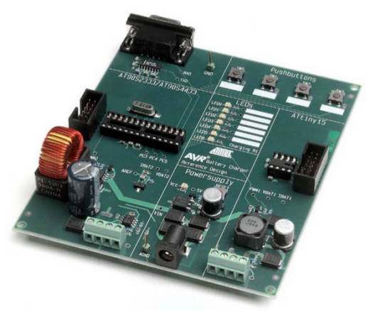 AVR450: Battery Charger for SLA, NiCd, NiMH and Li-Ion Batteries